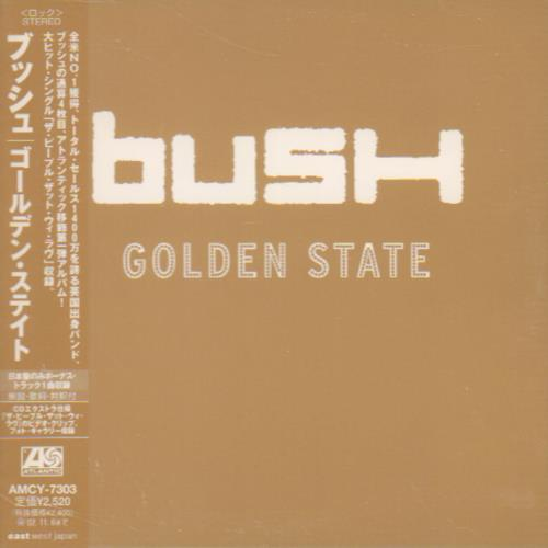 Bush Golden State CD album (CDLP) Japanese B-UCDGO213452