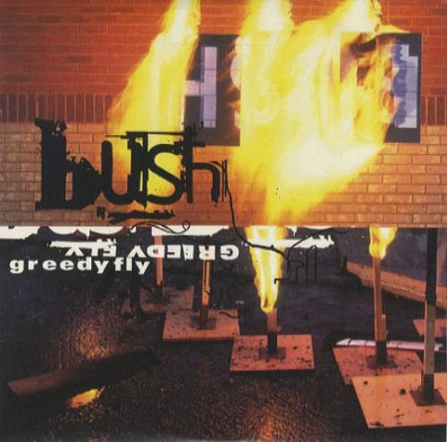 "Bush Greedy Fly CD single (CD5 / 5"") UK B-UC5GR86595"