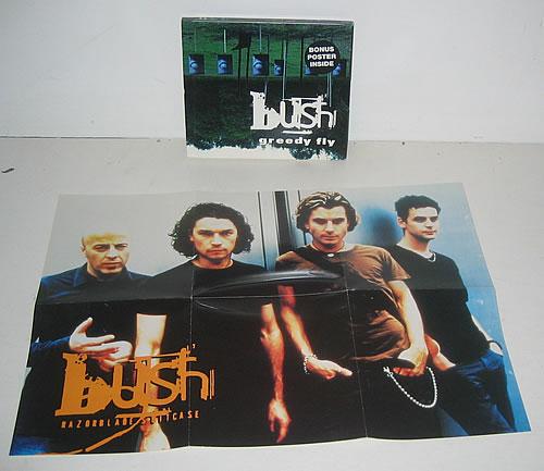 "Bush Greedy Fly CD single (CD5 / 5"") Australian B-UC5GR89196"