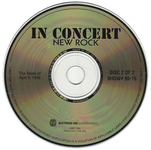 Bush In Concert: New Rock - Barely Acoustic Special, Part 2 CD album (CDLP) US B-UCDIN274155