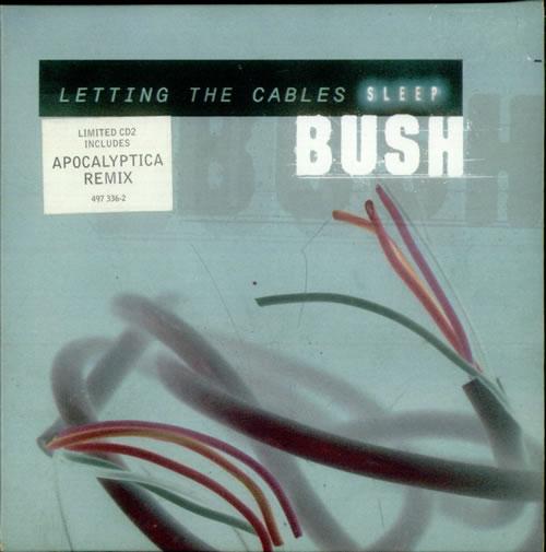 "Bush Letting The Cables Sleep CD single (CD5 / 5"") European B-UC5LE152971"