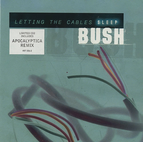 Bush Letting The Cables Sleep 2 CD album set (Double CD) UK B-U2CLE495915