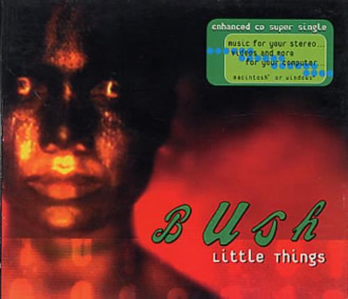 "Bush Little Things CD single (CD5 / 5"") US B-UC5LI110591"