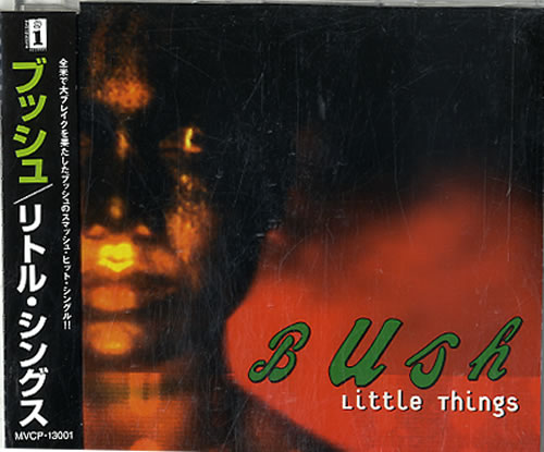 "Bush Little Things CD single (CD5 / 5"") Japanese B-UC5LI147698"