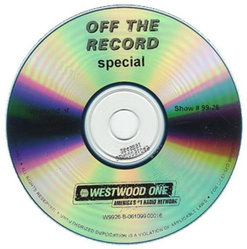 Bush Off The Record Special CD album (CDLP) US B-UCDOF164484
