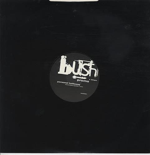 "Bush Personal Holloway 12"" vinyl single (12 inch record / Maxi-single) UK B-U12PE331838"