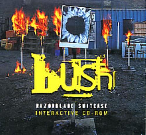 Bush Razorblade Suitcase Interactive Cd-rom CD-ROM US B-URORA113146