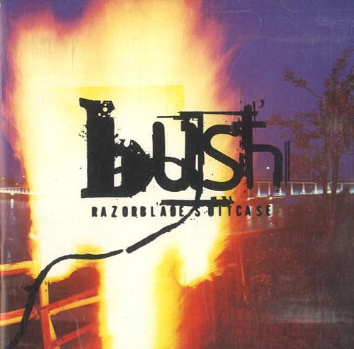 Bush Razorblade Suitcase CD album (CDLP) US B-UCDRA78051