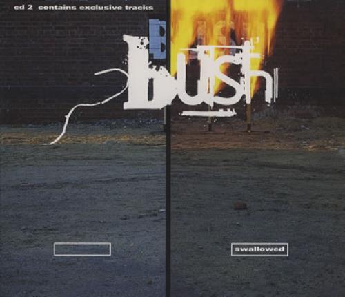 "Bush Swallowed CD single (CD5 / 5"") UK B-UC5SW175070"