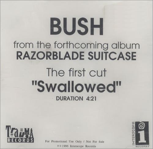 Bush Swallowed CD-R acetate US B-UCRSW99479