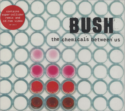 "Bush The Chemicals Between Us CD single (CD5 / 5"") UK B-UC5TH436453"