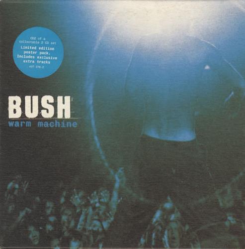 """Bush Warm Machine CD single (CD5 / 5"""") UK B-UC5WA208189"""