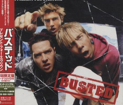 Busted A Present For Everyone 2-disc CD/DVD set Japanese BSD2DAP424071