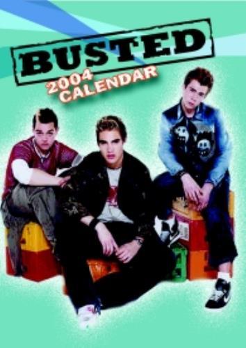 Busted Calendar 2004 calendar UK BSDCACA251661