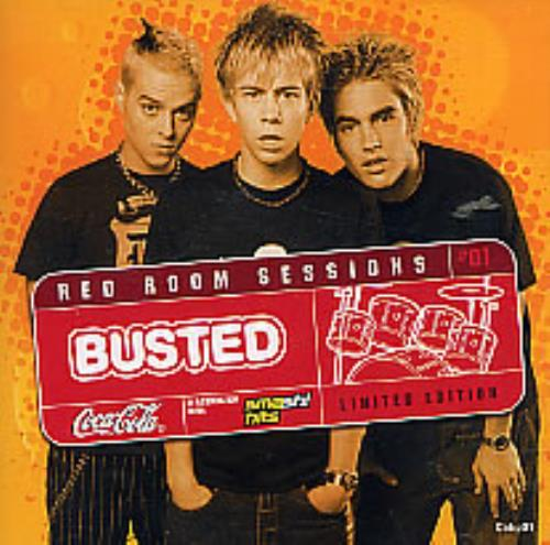 "Busted Red Room Sessions - Coca Cola CD CD single (CD5 / 5"") UK BSDC5RE255772"