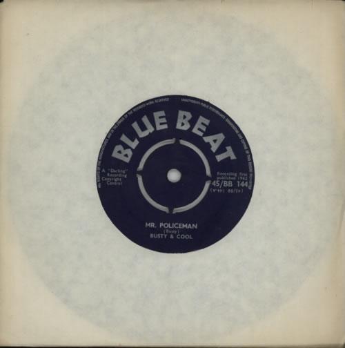 "Busty & Cool Mr. Policeman 7"" vinyl single (7 inch record) UK F7S07MR617256"