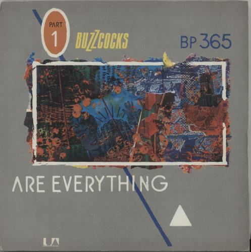 "Buzzcocks Are Everything / Why She's A Girl From The Chainstore 7"" vinyl single (7 inch record) UK BUZ07AR663096"