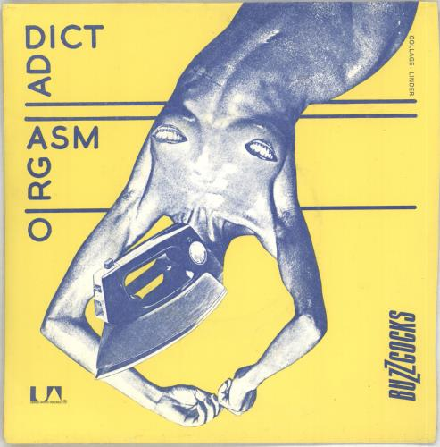 "Buzzcocks Orgasm Addict + Sleeve 7"" vinyl single (7 inch record) UK BUZ07OR106176"