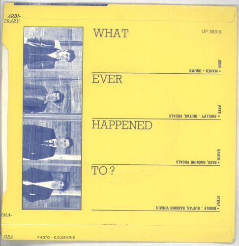 "Buzzcocks Orgasm Addict - p/s 7"" vinyl single (7 inch record) UK BUZ07OR106176"