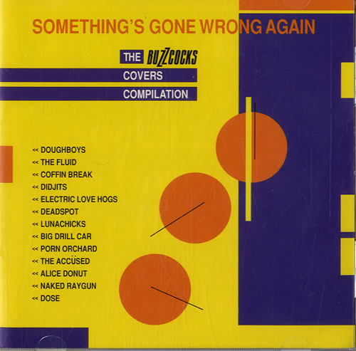 Buzzcocks Something's Gone Wrong Again - Buzzcocks Covers Compilation CD album (CDLP) UK BUZCDSO561675