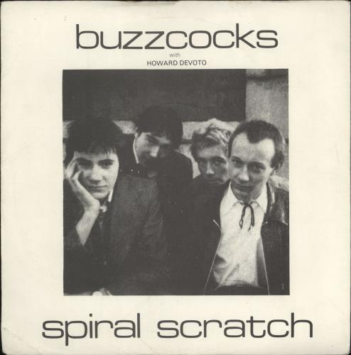 "Buzzcocks Spiral Scratch - 2nd - EX 7"" vinyl single (7 inch record) UK BUZ07SP191542"