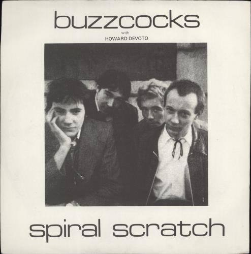 "Buzzcocks Spiral Scratch 7"" vinyl single (7 inch record) UK BUZ07SP618922"
