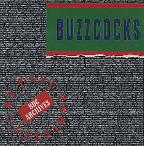 "Buzzcocks The Peel Sessions CD single (CD5 / 5"") Dutch BUZC5TH227248"