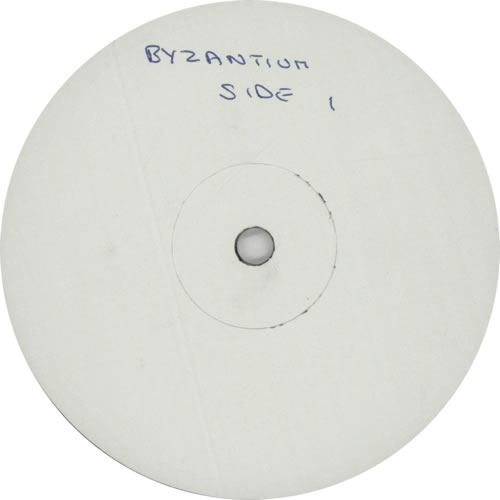 Byzantium Seasons Changing - poster p/s - Test Pressing vinyl LP album (LP record) UK BZULPSE612572