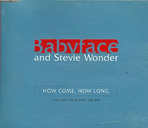 """Babyface How Come, How Long CD single (CD5 / 5"""") UK BAFC5HO292716"""