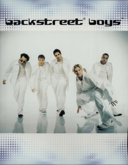 Backstreet Boys Tour Programme tour programme UK BKBTRTO114721