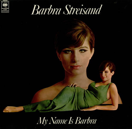 Barbra Streisand My Name Is Barbara Uk Vinyl Lp Album Lp