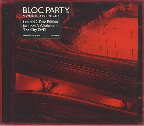 Bloc Party A Weekend In The City 2-disc CD/DVD set UK BB52DAW388419