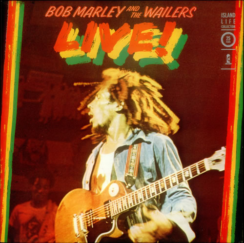 Image result for bob marley and the wailers live vinyl art