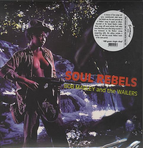 Bob Marley Soul Rebels vinyl LP album (LP record) UK BMLLPSO399979