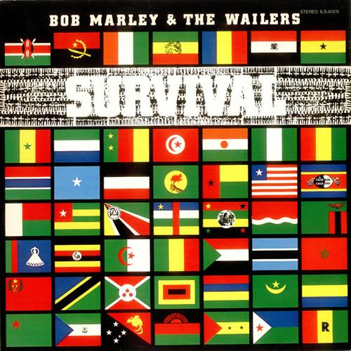 Bob Marley Survival SHM CD Japanese BMLHMSU531712