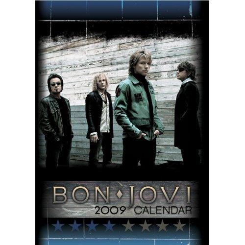Bon Jovi Official Calendar 2009 Uk Calendar 438012 C10645