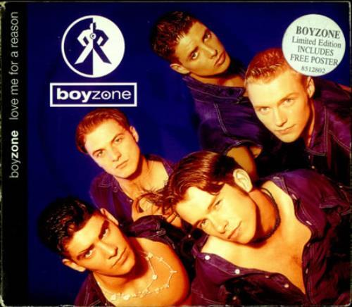 """Boyzone Love Me For A Reason CD single (CD5 / 5"""") UK BYZC5LO43410"""