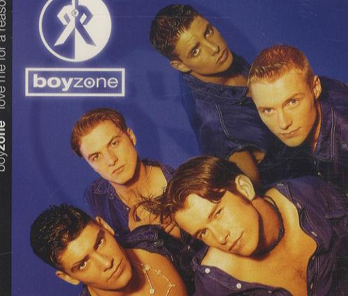 """Boyzone Love Me For A Reason CD single (CD5 / 5"""") UK BYZC5LO44097"""