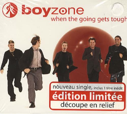 "Boyzone When The Going Gets Tough - Pop Up CD single (CD5 / 5"") French BYZC5WH142509"