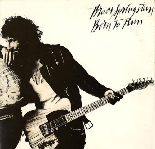 Bruce Springsteen Born To Run - Script Cover vinyl LP album (LP record) US SPRLPBO303611