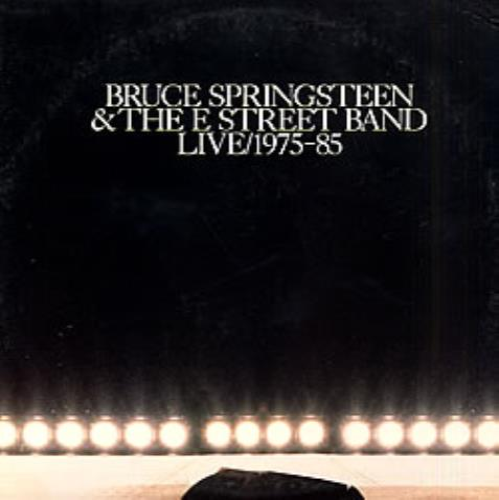 Bruce Springsteen Live 1975-85 vinyl LP album (LP record) US SPRLPLI01204