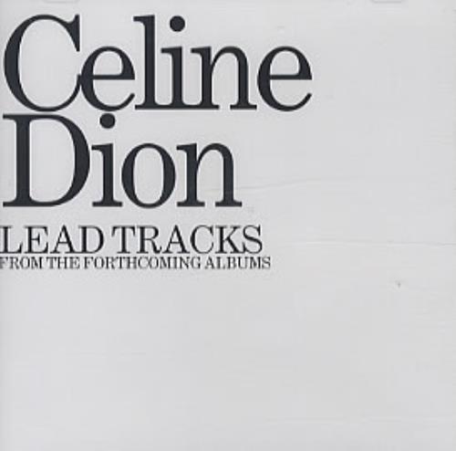 "Céline Dion Lead Tracks CD single (CD5 / 5"") Japanese CELC5LE322383"