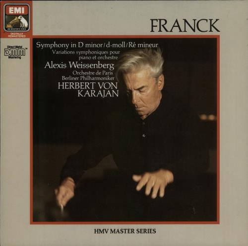 César Franck Symphony In D Minor vinyl LP album (LP record) German FT5LPSY646085