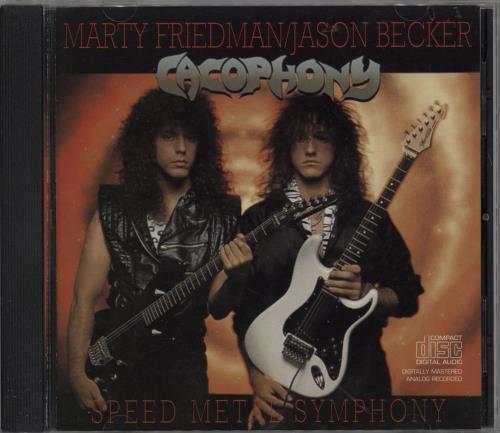 Cacophony Speed Metal Sypmphony CD album (CDLP) US H9CCDSP751421