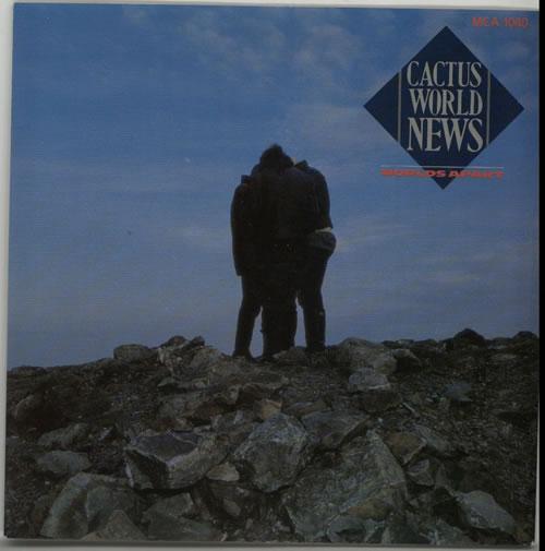 "Cactus World News Worlds Apart 7"" vinyl single (7 inch record) UK CWN07WO633929"