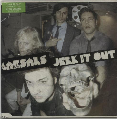 Caesars Jerk It Out Blue Vinyl Swedish 7 Vinyl Single 7 Inch Record 322097
