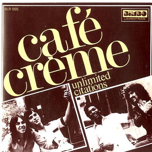 """Café Crème Unlimited Citations 7"""" vinyl single (7 inch record) French EKF07UN594436"""
