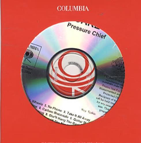 Cake Pressure Chief CD album (CDLP) US CKECDPR306285