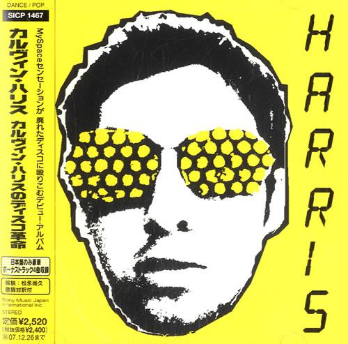 Calvin Harris I Created Disco CD album (CDLP) Japanese CI3CDIC614618