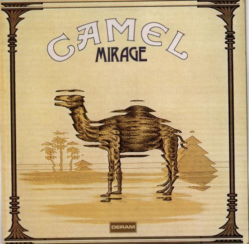Camel Mirage vinyl LP album (LP record) French C-LLPMI374326
